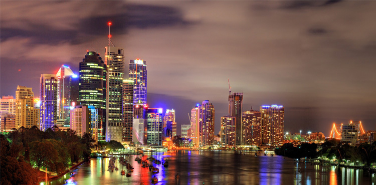 Kvinslend, Australija | Australijske države