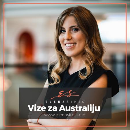 Zakazite besplatno savetovanje Elena Simic - Vize za Australiju