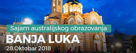 Sajam autralijskog obrazovanja 2018 - Banja Luka