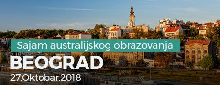Sajam autralijskog obrazovanja 2018 - Beograd