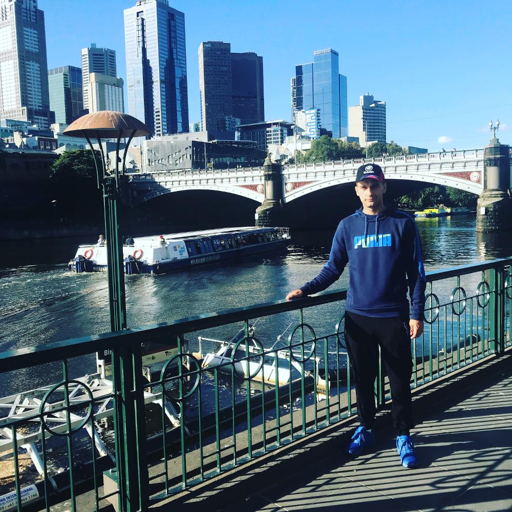 Predrag Mitrovic - Odlazak u Australiju