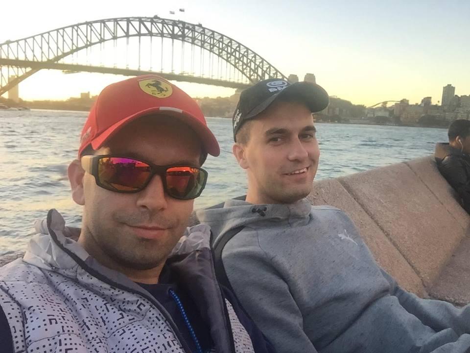 Predrag Mitrovic - Studiranje u Australiji