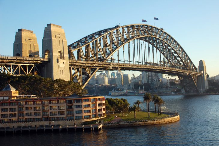 Sidnejski lučki most - Sydney Harbour Bridge