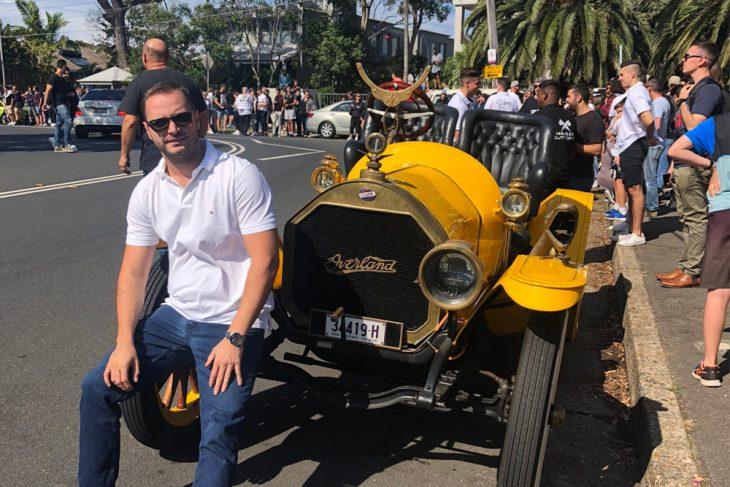Branislav Katic - Prvi susret sa Australijom
