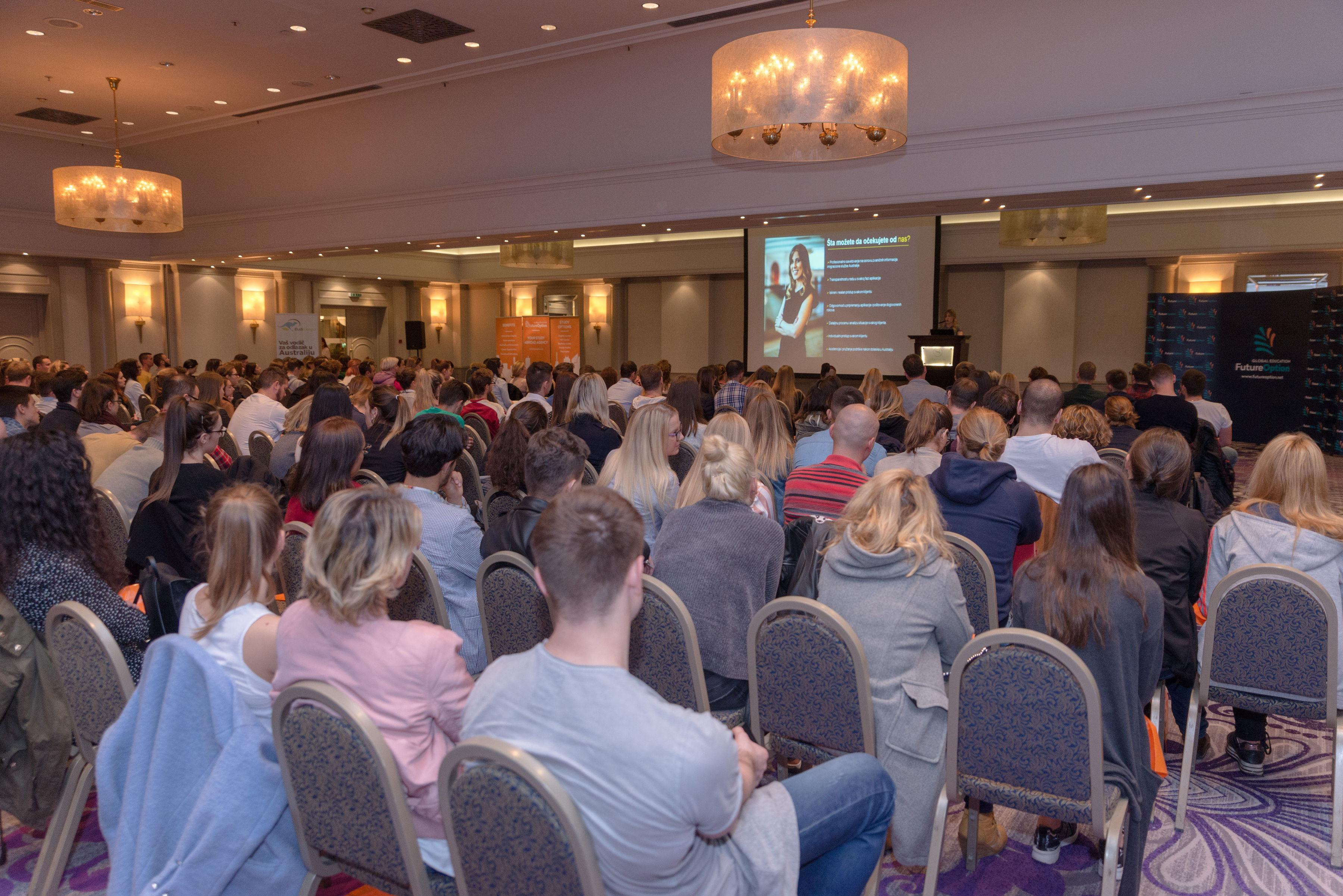 Učesnici Future Option sajma australijskog obrazovanja 2019